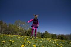 Brancher de fille Photographie stock libre de droits