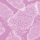 Branches étonnantes des fleurs lilas dans les couleurs violettes Bon pour wal Photographie stock libre de droits