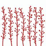 Branches. Vector illustration; flora design element Stock Images