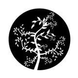 Branches abstraites illustration stock