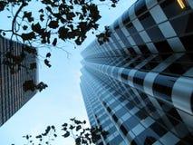 branches byggnader som ser modernt övre fotografering för bildbyråer