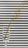 branches den glass spiralen Arkivfoton