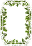 branches julramtreen stock illustrationer