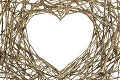Branches in Love Shape Royalty Free Stock Image