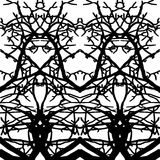 Branches pattern Stock Photography