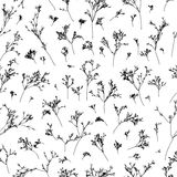 Branches seamless pattern Royalty Free Stock Photos