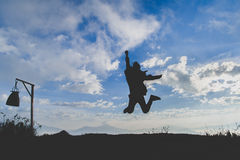 Branchez au ciel Photo libre de droits