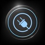 Branchez autour de l'icône illustration de vecteur