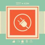 Branchez autour de l'icône illustration stock