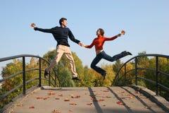 Branchez les couples Photos libres de droits