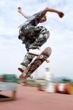 Branchez sur le patin photographie stock