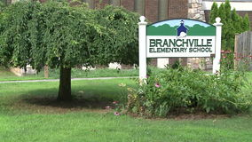 Branchville Elementary School (2 of 2). A view or scene of Education stock video footage