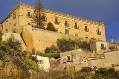 Branciforti budynek w Leonforte, Sicily Zdjęcie Royalty Free