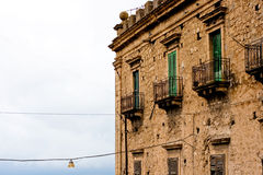 Branciforti building, Leonforte - Sicily Stock Photography