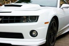 Branco 2010 de Chevrolet Camaro Imagem de Stock Royalty Free