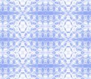 Branco azul do teste padrão sem emenda das elipses ilustração do vetor