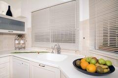 Branco da cozinha Imagens de Stock Royalty Free