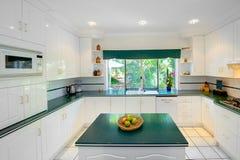 Branco da cozinha Fotos de Stock Royalty Free