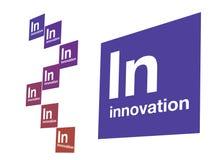 Branco da inovação Imagem de Stock