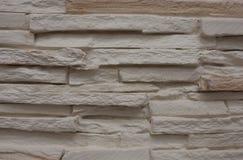 Branco da parede de tijolo Imagem de Stock Royalty Free