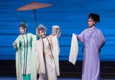 """ branco de ajuda de Opera""""Madame Snake†da mão-Kunqu do encontro-Um romântico Fotografia de Stock Royalty Free"""