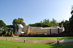 Branco de Budha Imagem de Stock