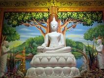 Branco de Budha Foto de Stock