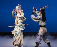 """ branco de Opera""""Madame Snake†da luta-Kunqu feericamente do guindaste Fotografia de Stock"""