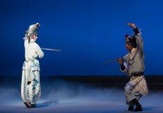 """ branco de Opera""""Madame Snake†da luta-Kunqu feericamente do guindaste Imagens de Stock Royalty Free"""
