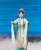 """ branco de Opera""""Madame Snake†da serpente-Kunqu verde Foto de Stock Royalty Free"""