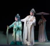 """ branco de Opera""""Madame Snake†das irmãs-Kunqu da serpente Fotos de Stock"""