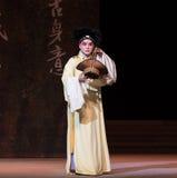 " branco de Opera""Madame Snake†do ato-Kunqu dos vegetais- segundos da compra de Xu Xian Imagens de Stock Royalty Free"