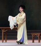 " branco de Opera""Madame Snake†do ato-Kunqu dos vegetais- segundos da compra de Xu Xian Fotografia de Stock Royalty Free"