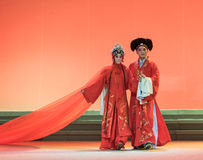""" branco de Opera""""Madame Snake†do casamento-Kunqu da fada e do homem Imagens de Stock"""