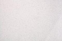 Branco de superfície de quartzo para a bancada do banheiro ou da cozinha imagens de stock