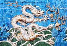 Branco do dragão Imagens de Stock