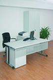 Branco do escritório Fotos de Stock