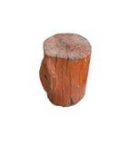 Branco do isolado da madeira Imagem de Stock