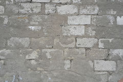 Branco do tijolo da parede textured Imagem de Stock