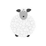 Branco dos carneiros Imagens de Stock