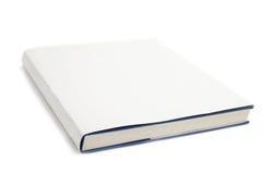 Branco em branco da tampa de livro Fotografia de Stock Royalty Free
