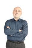 Branco isolado homem de negócios foto de stock royalty free