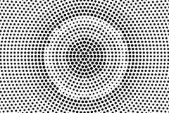 Branco preto fundo de intervalo mínimo pontilhado Inclinação pontilhado áspero radial Foto de Stock