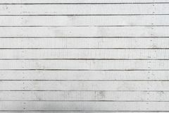 Branco vazio fundo de madeira pintado da textura foto de stock