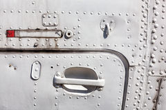 Branco velho fuselagem de aviões pintada Imagem de Stock Royalty Free