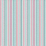 Branco verde vermelho das listras geométricas sem emenda bonitos do fundo Imagens de Stock Royalty Free