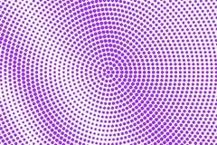 Branco violeta reticulação pontilhada Fundo de intervalo mínimo Radial áspero inclinação pontilhado Foto de Stock
