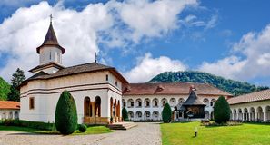 Brancoveanu monaster w Sambata De Sus, Rumunia obraz royalty free