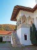 Brancoveanu Monastery in Romania. Interior yard view Stock Photography