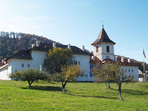 Brancoveanu monastery in Romania. View from outside Royalty Free Stock Photography